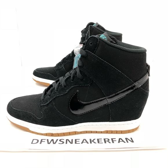 brand new ac54f bbf04 Nike Women s Dunk Ski Hi Wedge Black